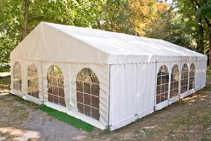 stunning marquee for a special occasion